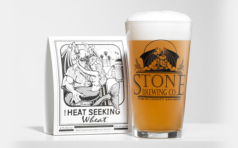 Stone Heat seeking Wheat glass