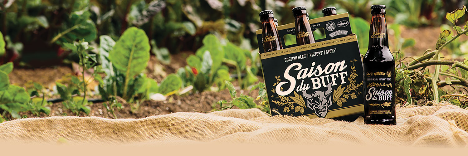 Our Hellaciously Herbaceous Creation Is Back!   Stone Brewing