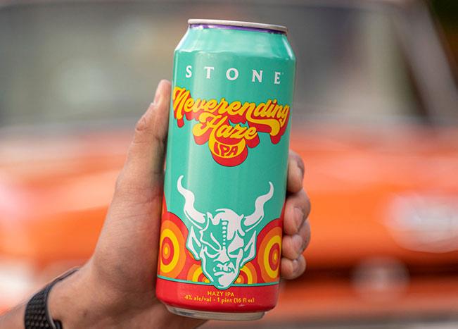 can of stone neverending haze ipa