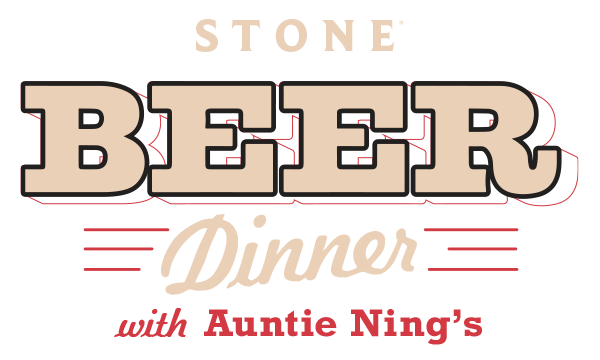 Stone Beer Dinner with Auntie Ning's