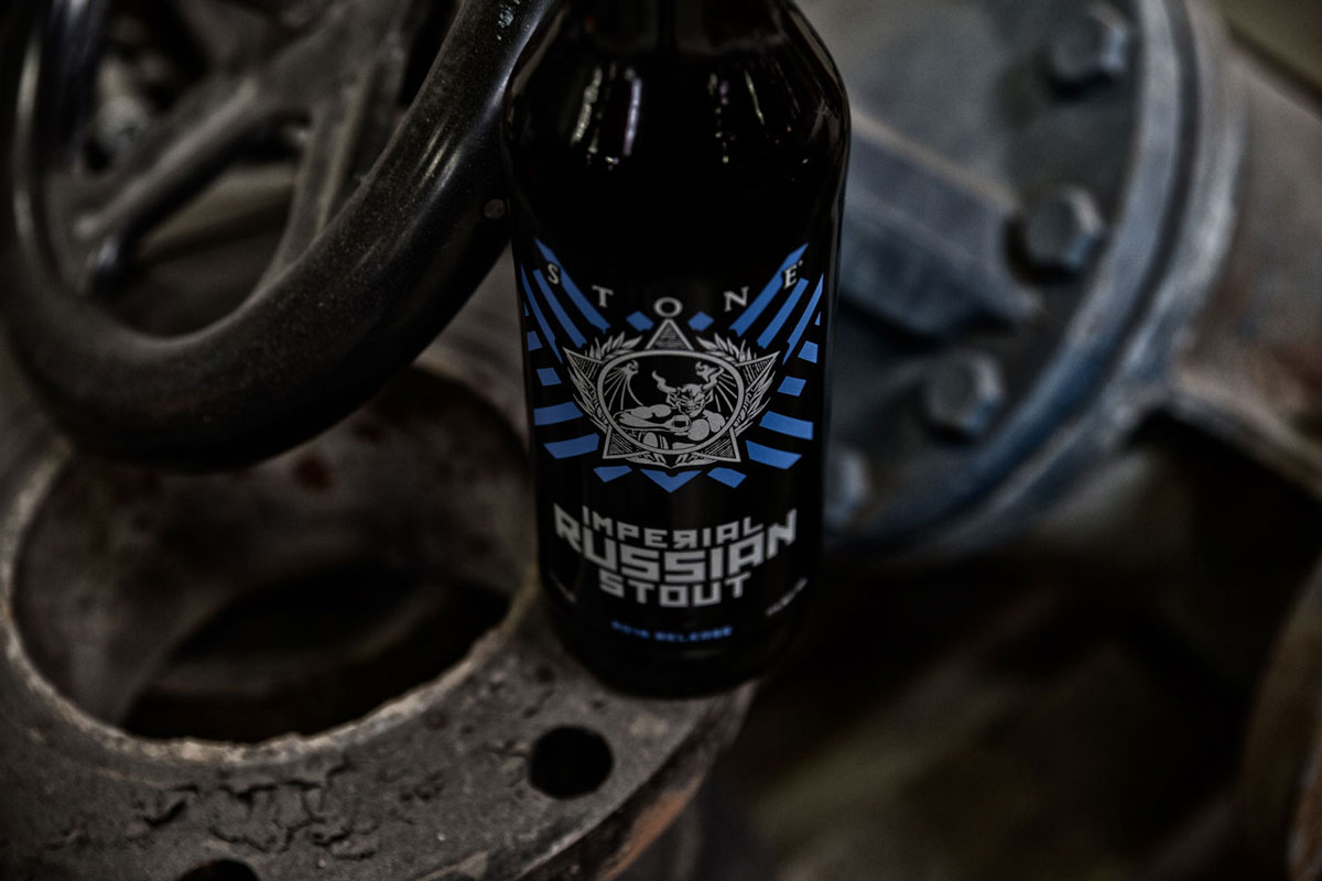 Stone Imperial Russian Stout bottle