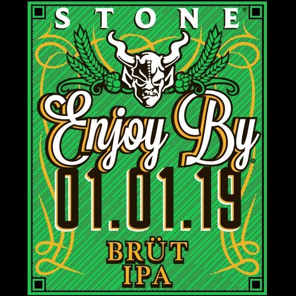 Stone Enjoy By 01.01.19 BRÜT IPA