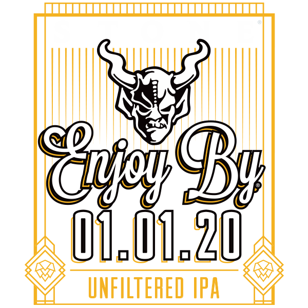 Stone Enjoy By 01.01.20 Unfiltered IPA