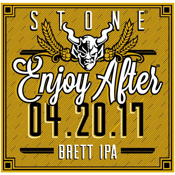 Stone Enjoy After 04.20.17 Brett IPA