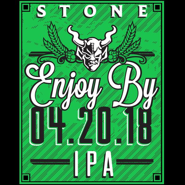 Stone Enjoy By 04.20.18 IPA