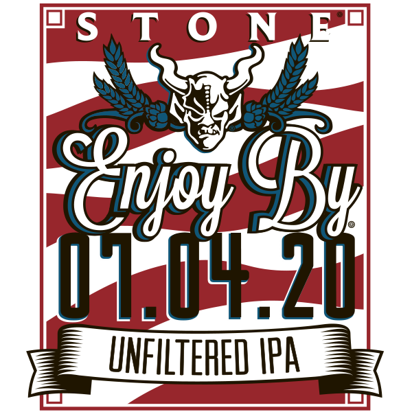 Stone Enjoy By 07.04.20 Unfiltered IPA