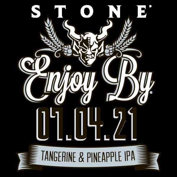 Stone Enjoy By 07.04.21 Tangerine & Pineapple IPA