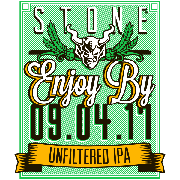 Stone Enjoy By 09.04.17 Unfiltered IPA