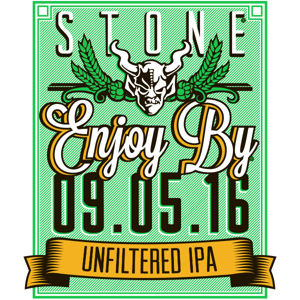 Stone Enjoy By 09.05.16 Unfiltered IPA