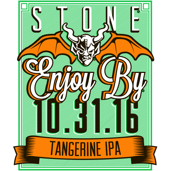 Stone Enjoy By 10.31.16 Tangerine IPA