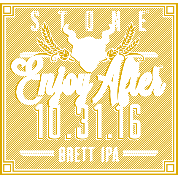 Stone Enjoy After 10.31.16 Brett IPA