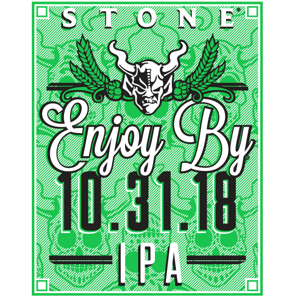 Stone Enjoy By 10.31.18 IPA