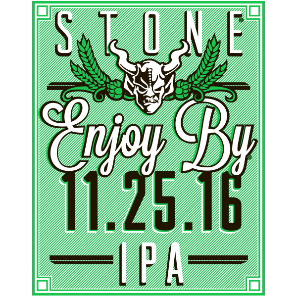 Stone Enjoy By 11.25.16 IPA