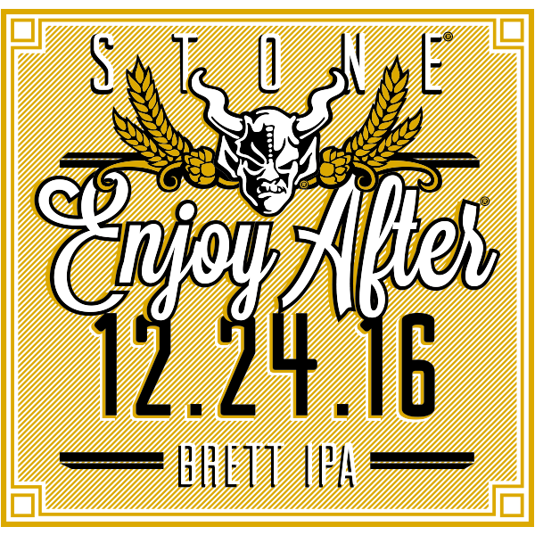 Stone Enjoy After 12.24.16 Brett IPA