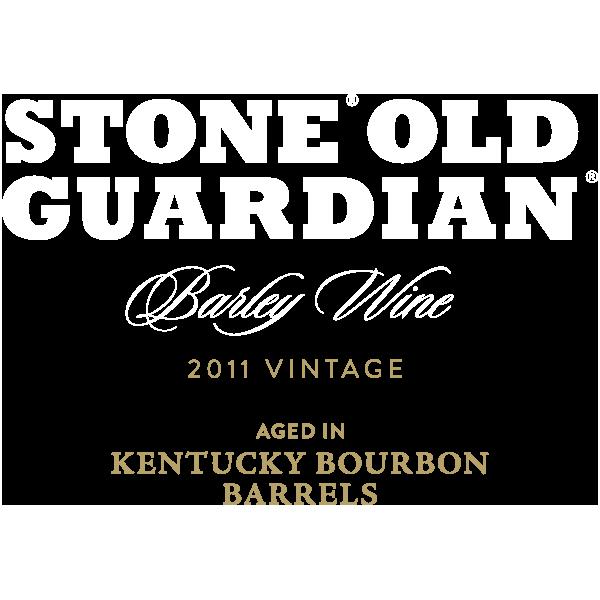 Stone Old Guardian Aged in Kentucky Bourbon Barrels
