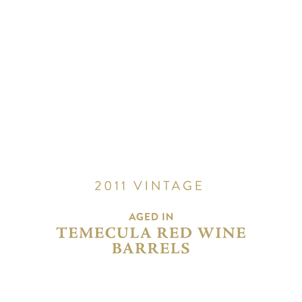 Stone Old Guardian Aged in Temecula Red Wine Barrels