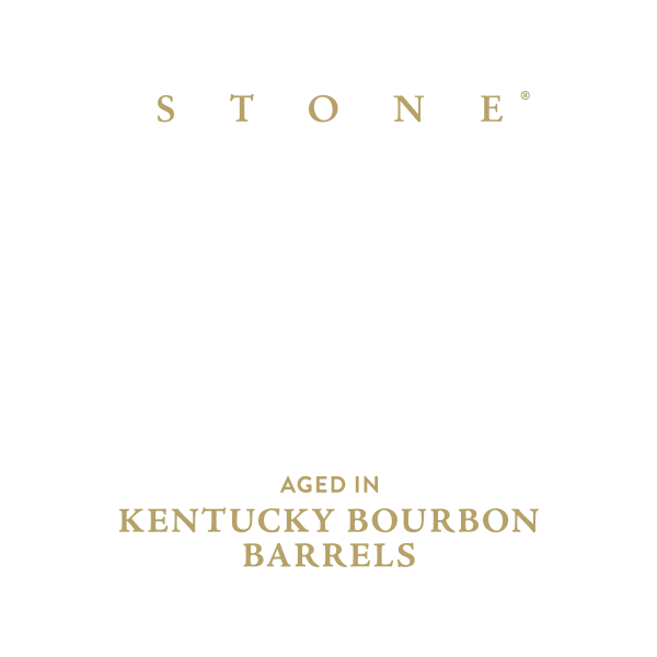 Stone Ruination IPA Aged in Kentucky Bourbon Barrels