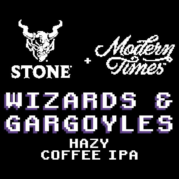 Modern Times / Stone Wizards & Gargoyles Hazy Coffee IPA