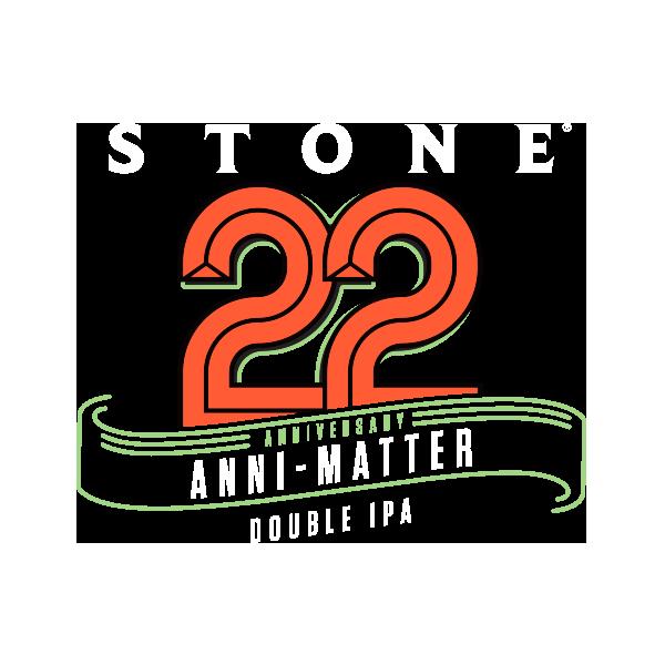 Stone 22nd Anniversary Anni-Matter Double IPA logo