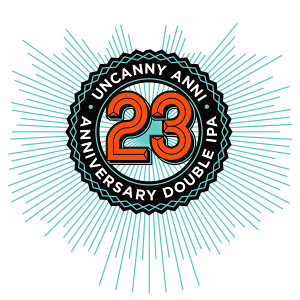 Stone 23rd Anniversary Uncanny Anni Double IPA