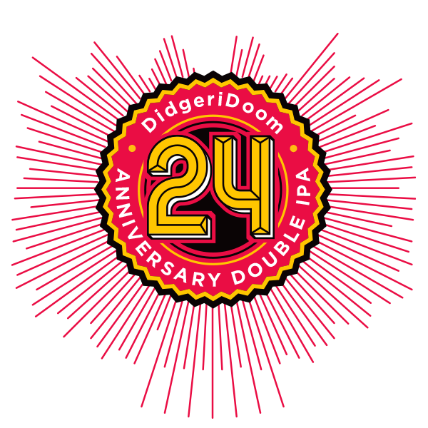 Stone 24th Anniversary DidgeriDoom Double IPA