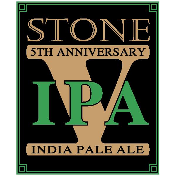 Stone th anniversary ipa brewing