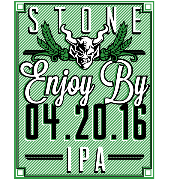 Stone Enjoy By 04.20.16 IPA