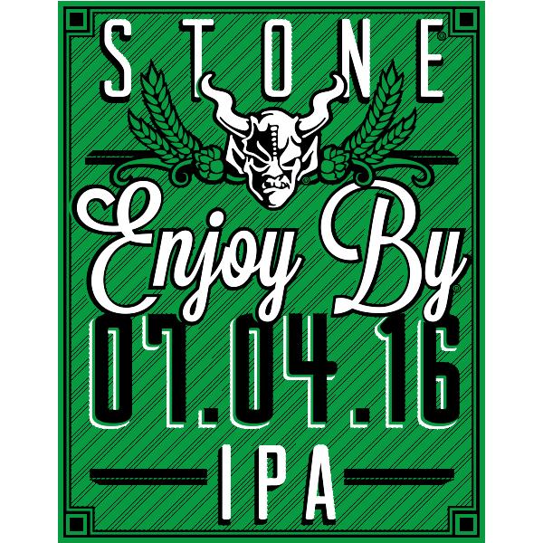 Stone Enjoy By 07.04.16 IPA