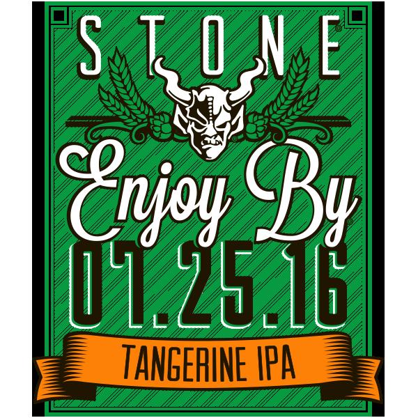 Stone Enjoy By 07.25.16 Tangerine IPA