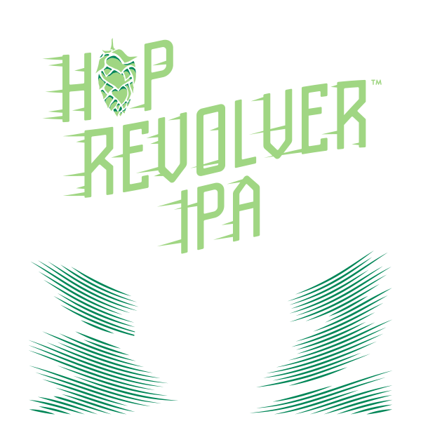 Stone Hop Revolver IPA Label
