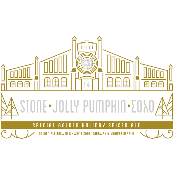 "Jolly Pumpkin / Solo / Stone ""Special Golden Holiday Ale"""