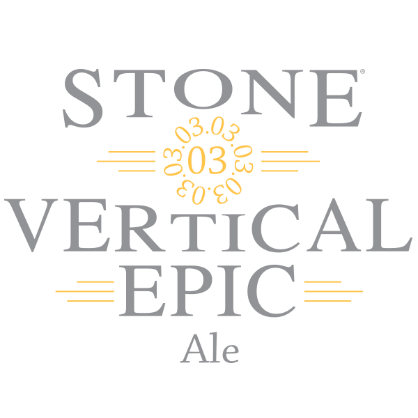 Stone 03.03.03 Vertical Epic Ale