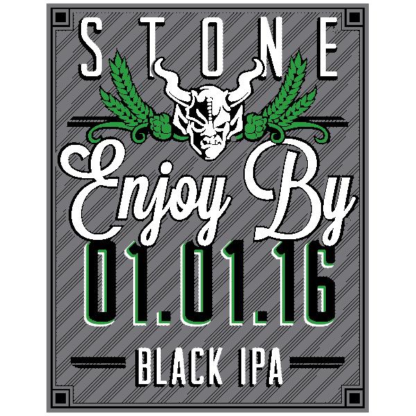 Stone Enjoy By 01.01.16 Black IPA