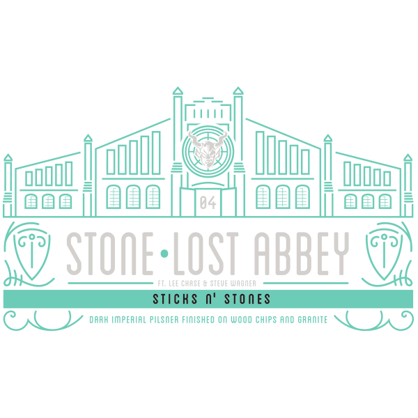 "Lost Abbey / Stone ""Sticks N' Stones"""