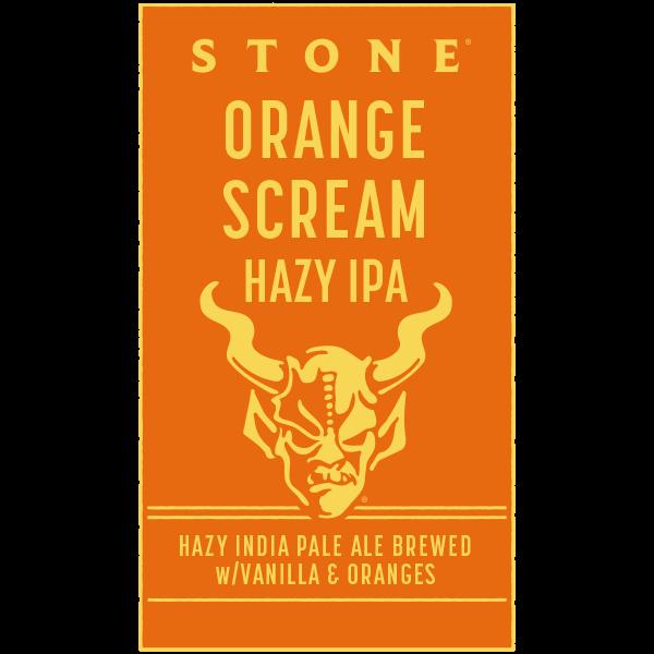 Stone Orange Scream Hazy IPA