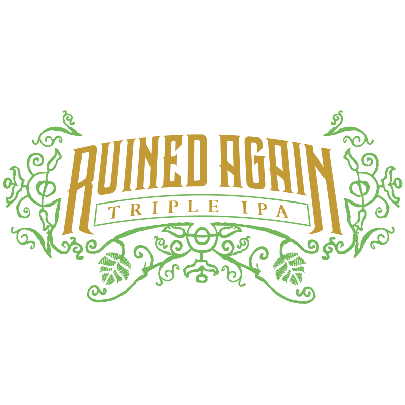 Stone Ruined Again Triple IPA