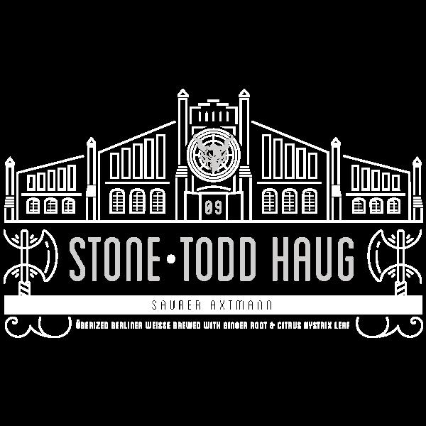 """Todd Haug / Stone """"Saurer Axtmann"""""""