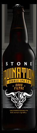Stone Ruination Double IPA 2.0 Sans Filtre bottle