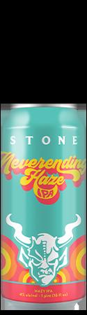 Stone Neverending Haze IPA can