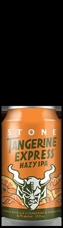 Stone Tangerine Express Hazy IPA can