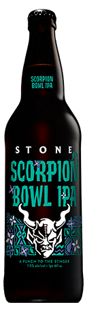Stone Scorpion Bowl IPA bottle
