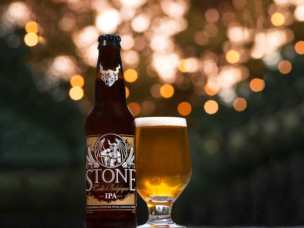 Stone Cali Belgique Ipa Stone Brewing