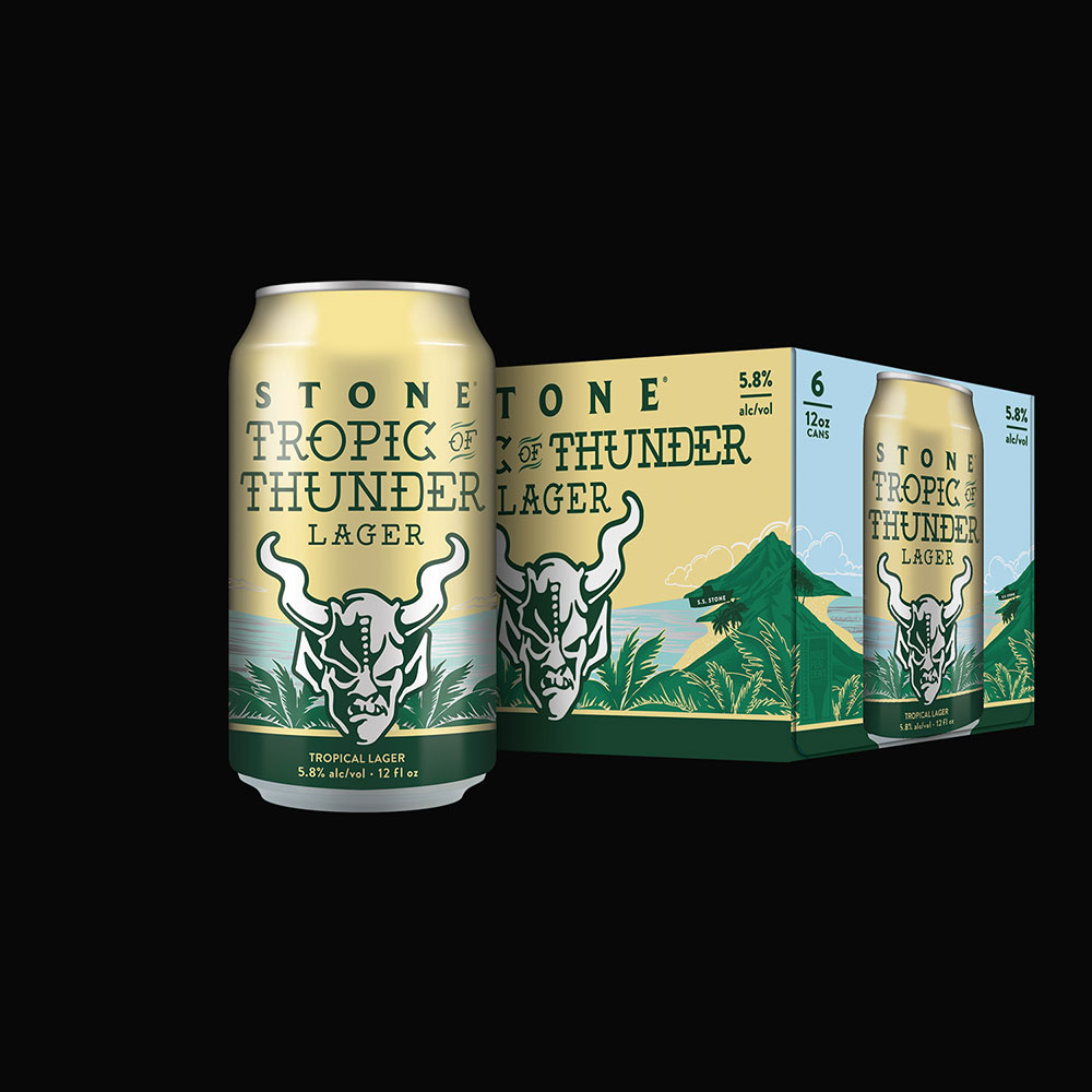 Stone Tropic of Thunder Lager | Stone Brewing