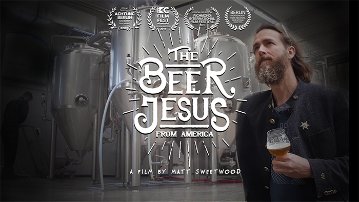 movie poster for The Beer Jesus From America