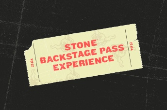 Stone Backstage Pass Experience