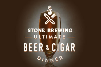 Stone Ultimate Beer & Cigar Dinner Logo