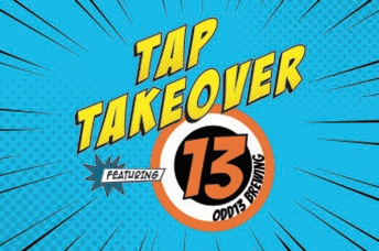 Tap Takeover featuring Odd13 Brewing