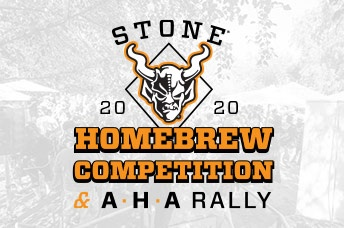 Stone 2020 Homebrew Competition & AHA Rally
