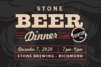 Stone Beer Dinner With Redemption BBQ