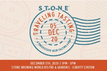 Stone Traveling Tasting - A progressive beer tasting event